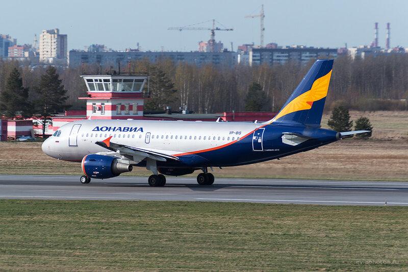 Airbus A319-112 (VP-BIS) Донавиа D804395