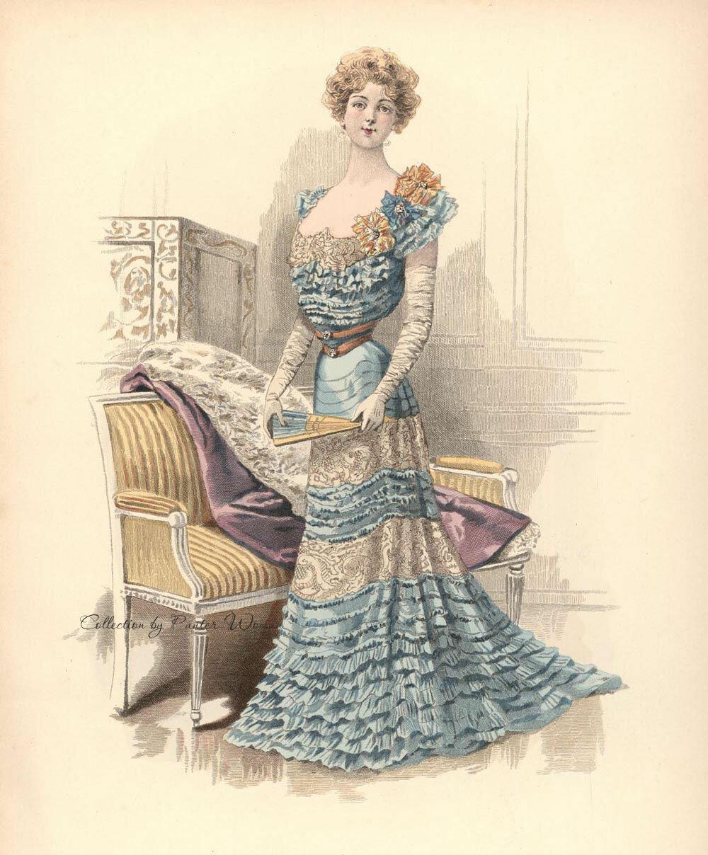 Victorian era ladies fashion