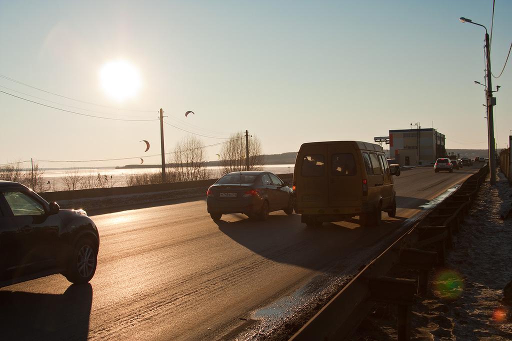 Мост на плотине Шешневского водохранилища (фото psycheya_ya) (25.09.2013)