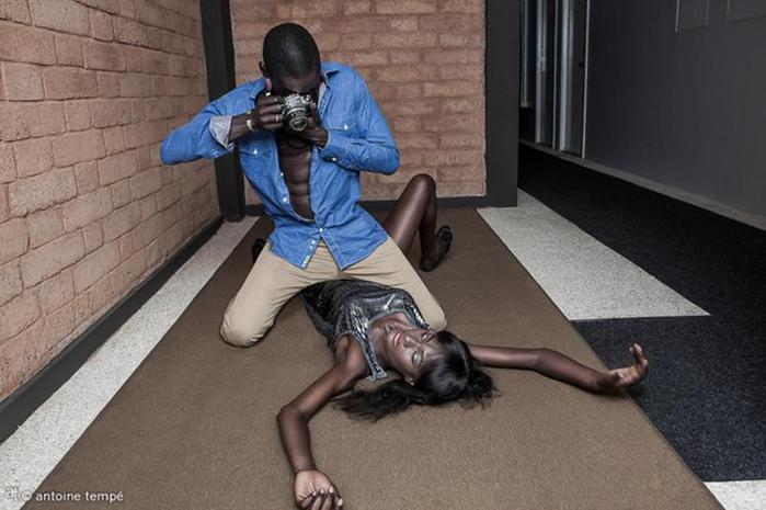 Сенегальский фотопроект: как выглядели бы «афро американские блокбастеры»
