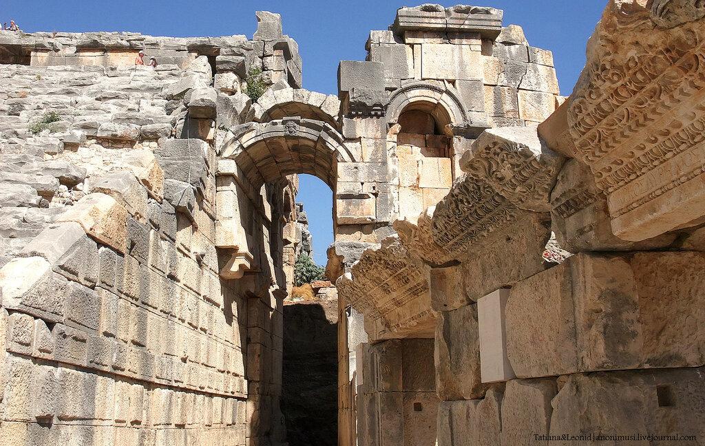Cтолица древней Ликии - город Мира. Турция