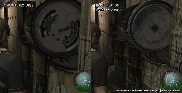 Новые скриншоты Resident Evil 4 HD Project - комната 305. 0_123385_46a3429f_orig