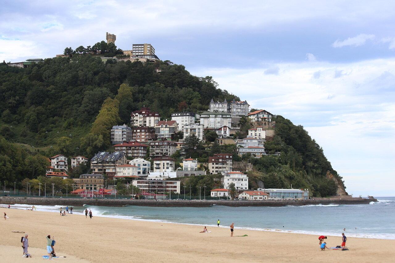 Доностия-Сан-Себастьян. Набережная и пляж Ондаретта (Playa de Ondarreta)