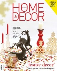 Журнал Home & Decor Indonesia -  December 2014