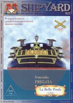 """Журнал Shipyard 022 - фрегат \""""la Belle Poule\"""""""