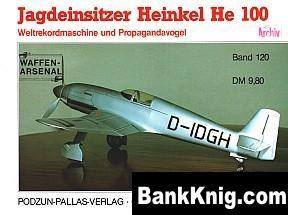 Книга Jagdeinsitzer Heinkel He 100 pdf (300 dpi) ~3250x2430 38,6Мб