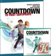Countdown to First Certificate (Student's book & Audio, Workbook Audio, Teacher's book)
