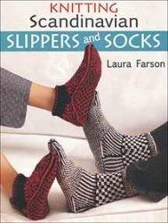 Книга Knitting Scandinavian Slippers and Socks