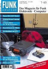Журнал Funkamateur № 7 2003