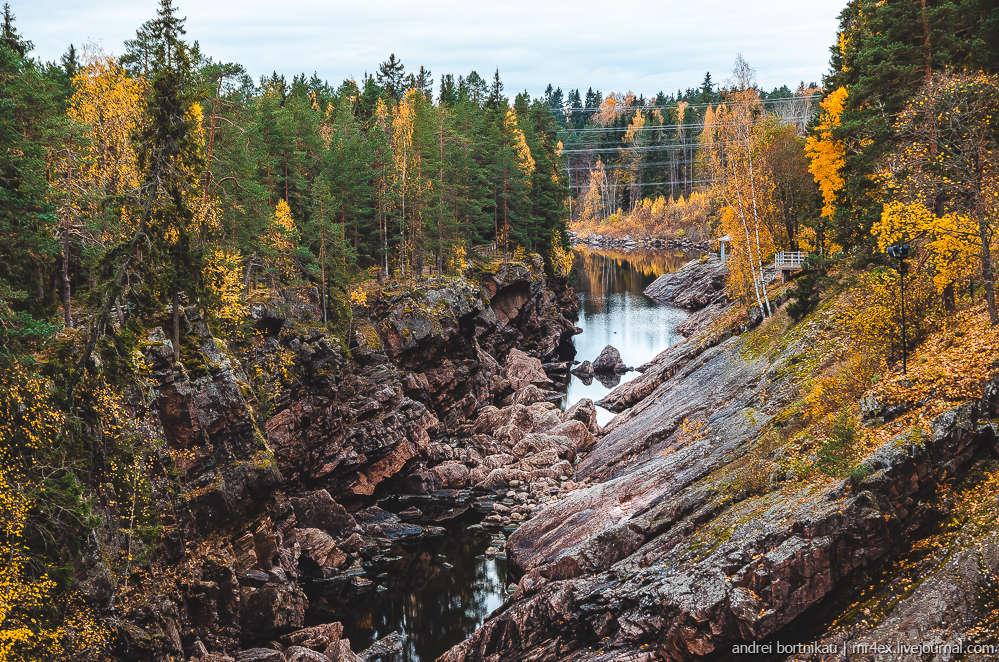 Иматра, Финляндия, Вуокса, Иматранкоски, водоскат в Финляндии