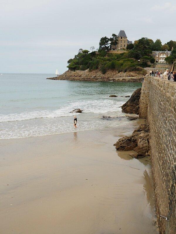 Франция, Динар - пляж (France, Dinard – beach)