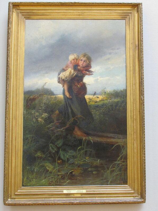 Маковский К.Е. Дети, бегущие от грозы 1872.