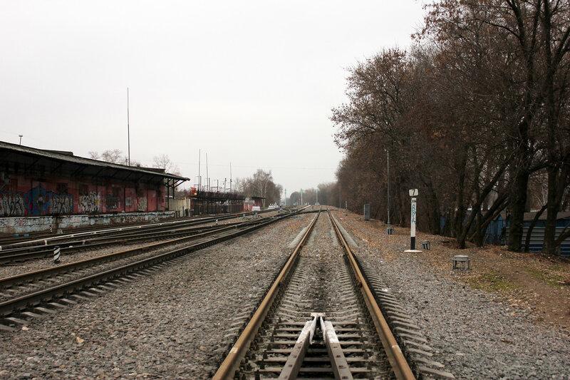 Станция Ростокино, в сторону Белокаменной