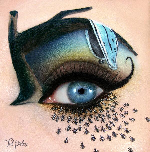 И в макияже место есть искусству... Таль Пелег