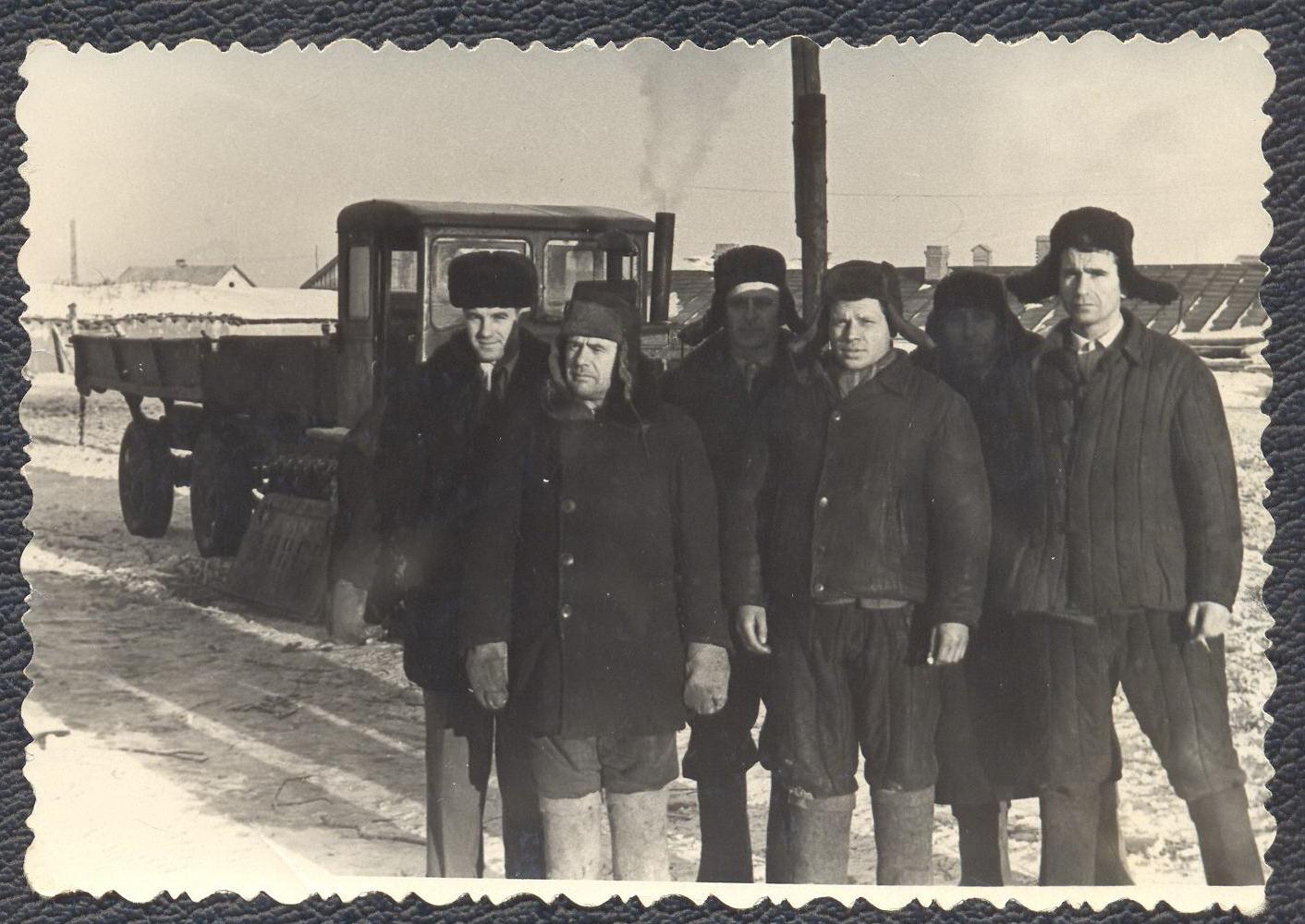 1960-е. Казахстан,Павлодарская обл.Иртышский рн.,п. Рассвет