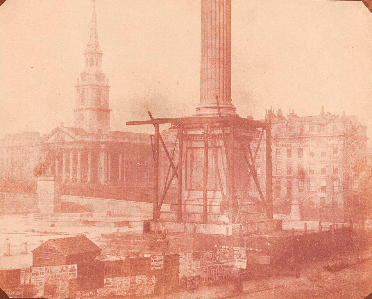 1843. Колонна Нельсона. Великобритания