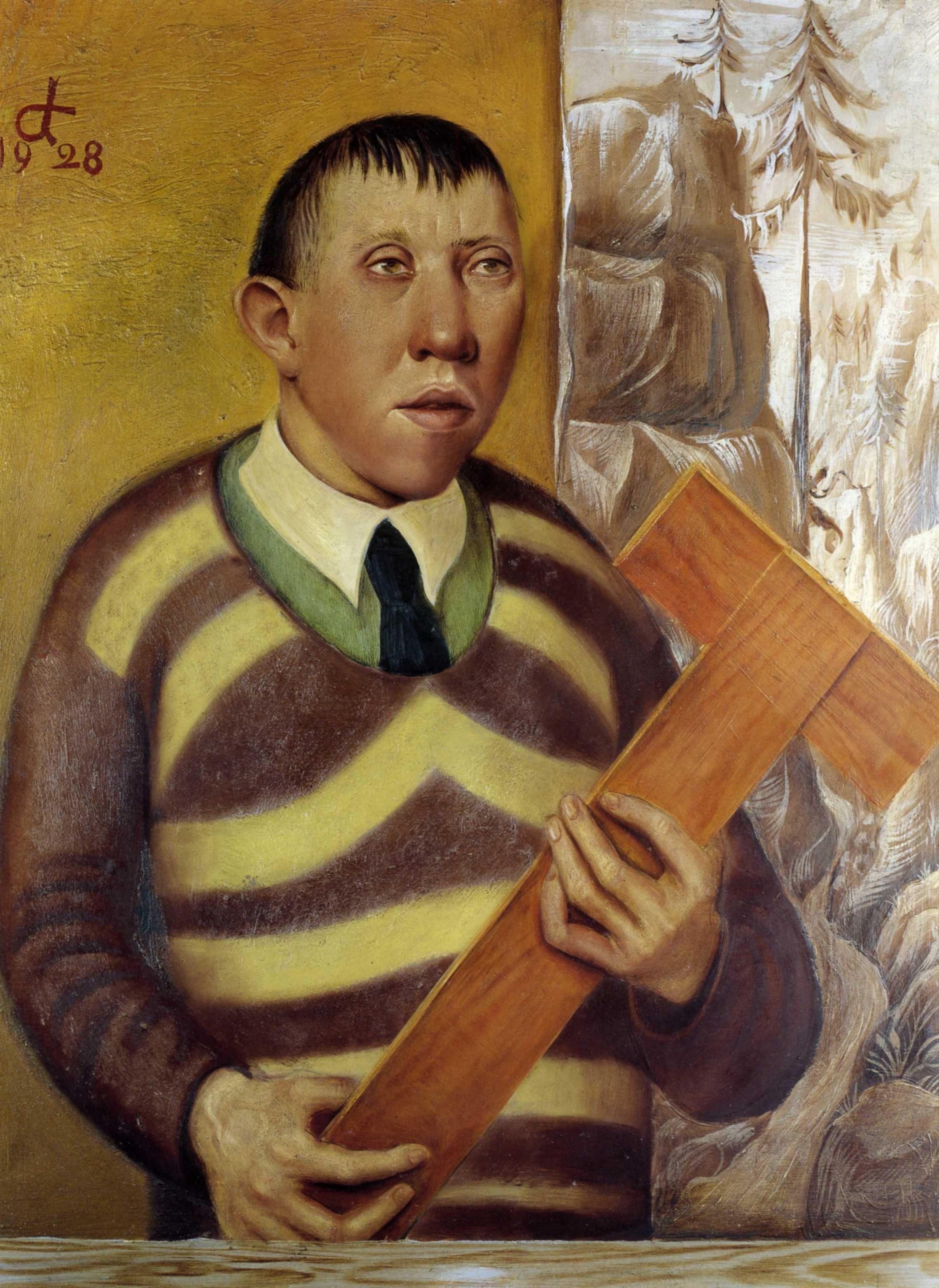 Отто Дикс. Портрет Франца Радзивилла. 1928
