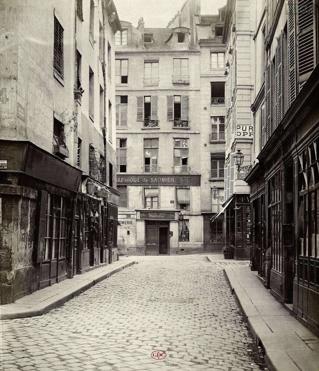 Рю де Англад. 1866