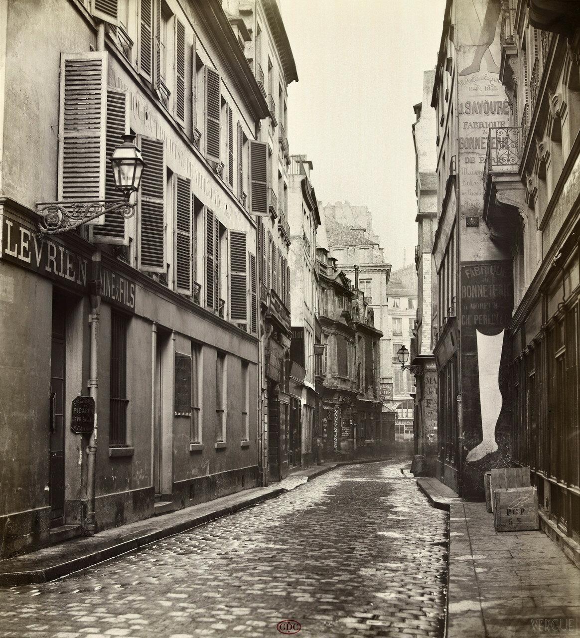 Рю дэ Дэшаржёр. 1865