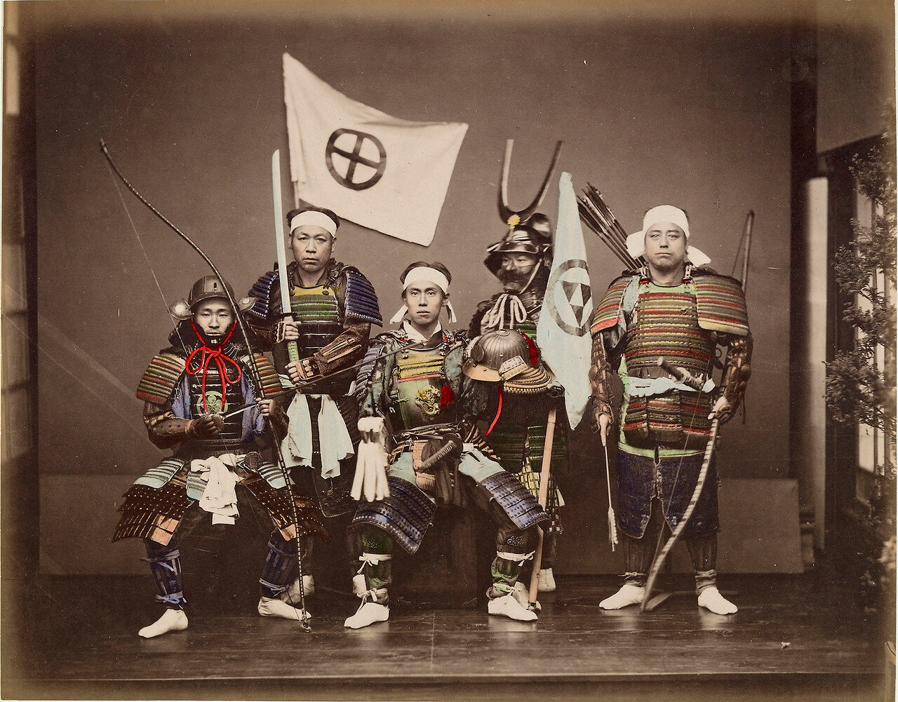 Пять самураев. 1886