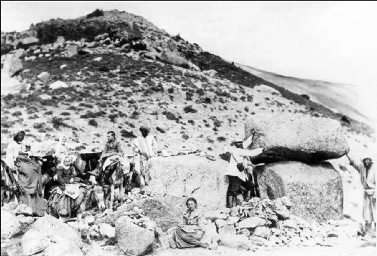 Экспедиция с детьми в Самаркандских горах