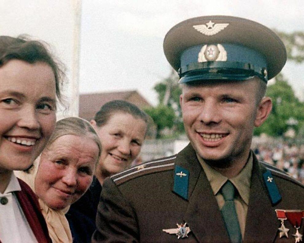 1961. Юрий Гагарин, Гжатск
