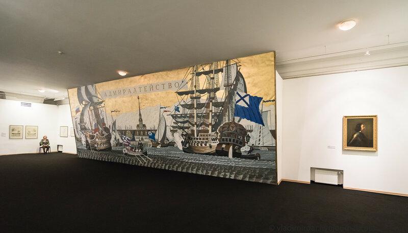 Выставка «Корабль. Путешествие сквозь Время и Образ». Зал