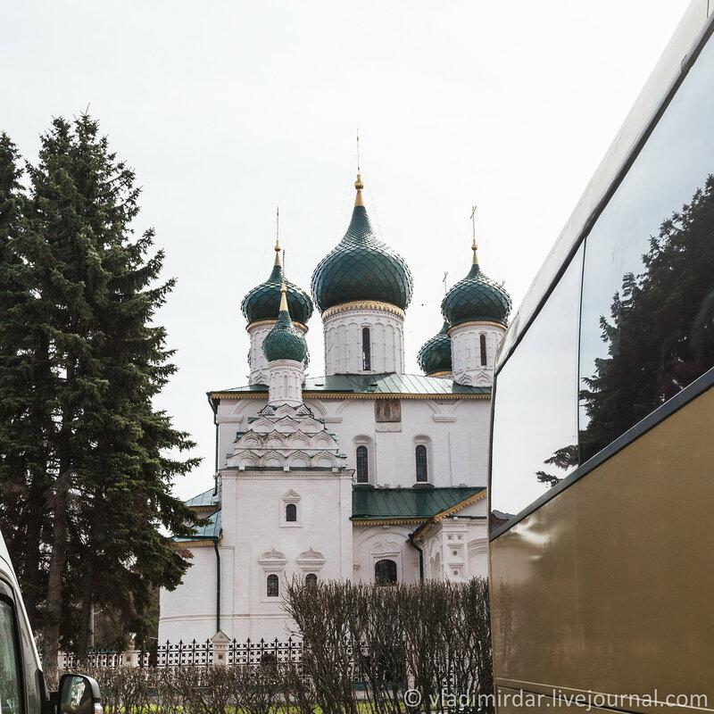 Придел святых исповедников Гурия, Самона и Авива Храма Пророка Ильи в Ярославле