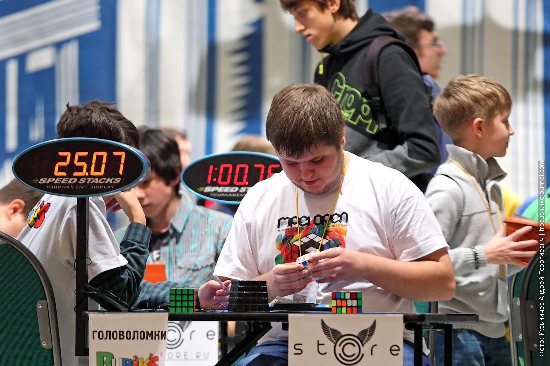 Всероссийский чемпионат по скоростной сборке кубика Рубика в ДК МЭИ
