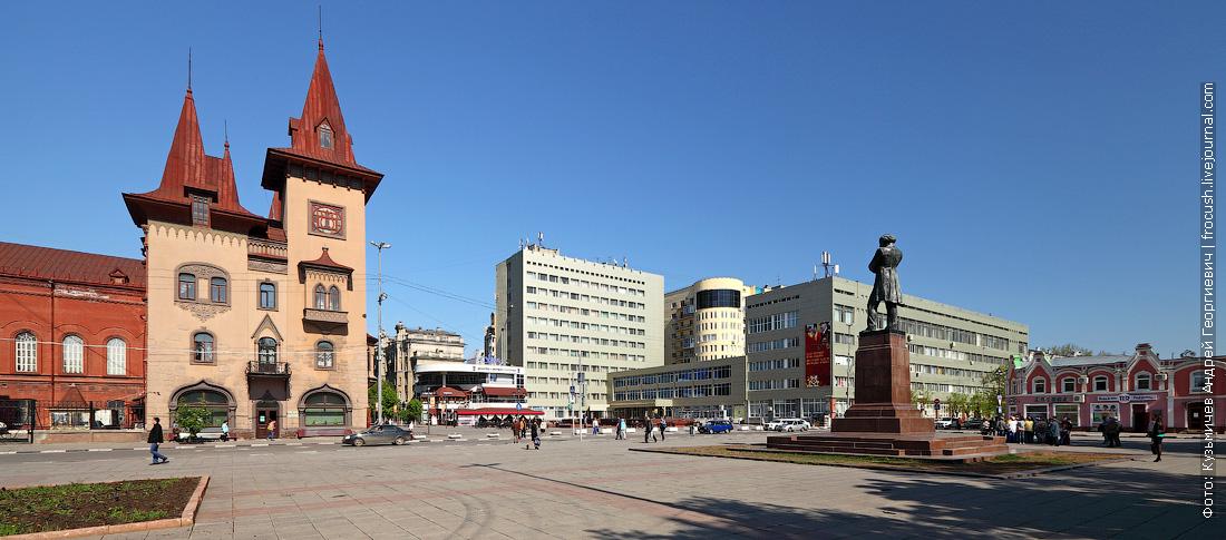 Памятник Н.Г.Чернышевскому