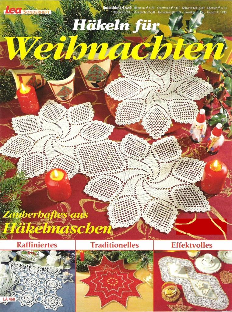 Christbaumkugeln Tschechien.журнал Lea Sonderheft La 468 обсуждение на Liveinternet