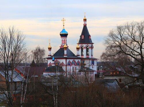 Знаменская церковь.Переславль-Залесский.