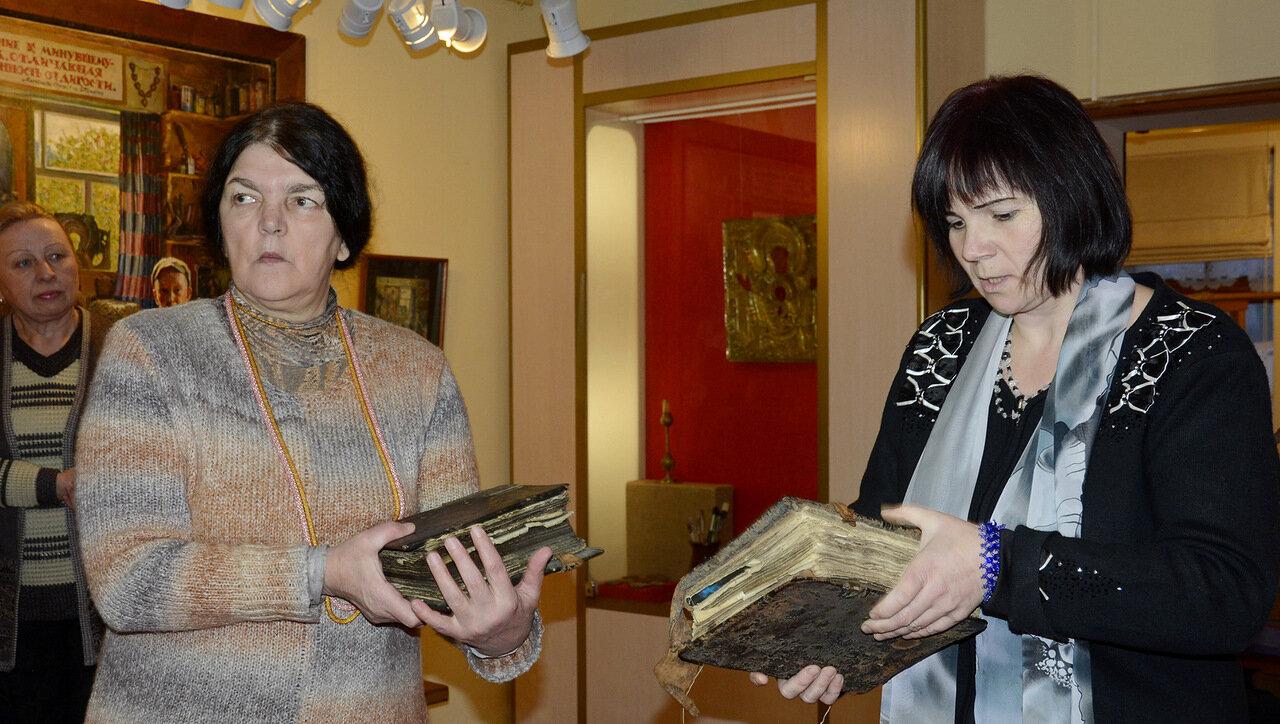 Выставка - Два художника: разговор через года в филиале Ветковского музея