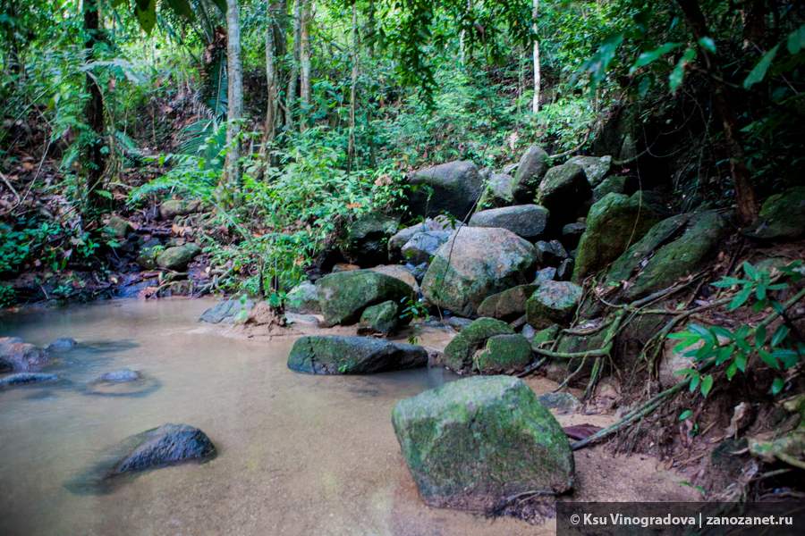 Водопад Кату. Пхукет. Таиланд.