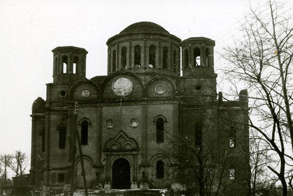 Боголюбский собор. Фото А.И. Захарова. Конец 1970-х гг.