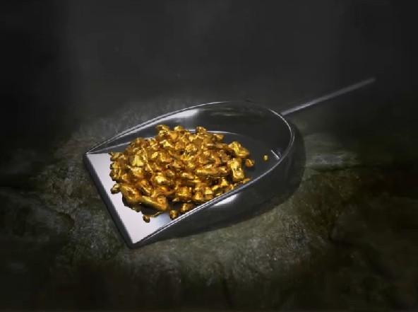 золото куски