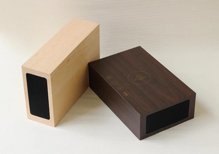 Qi зарядное устройство красивое оформление