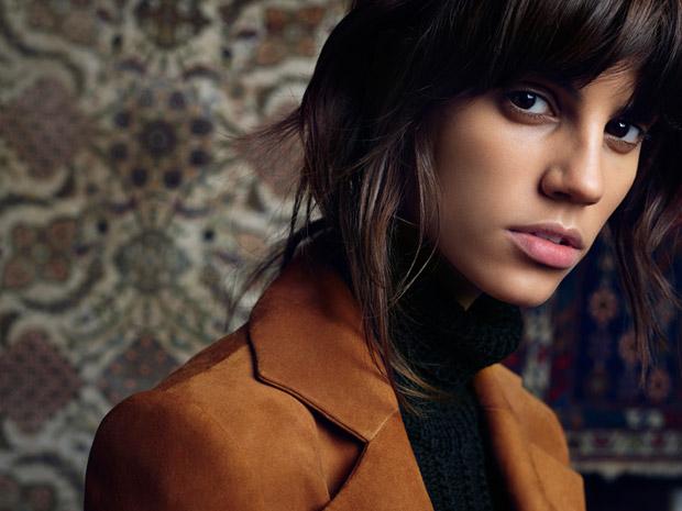 Антонина Петкович (Antonina Petkovic) в рекламной фотосессии для Magda Butrym