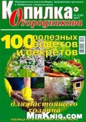 Журнал Копилка Огородникова №2, 2013