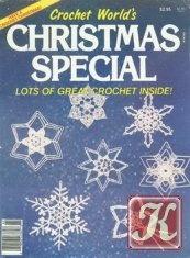 Журнал Crochet world christmas special 1986