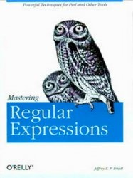 Книга Mastering Regular Expressions