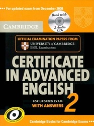 Аудиокнига Cambridge Certificate in Advanced English 2 (with answers)