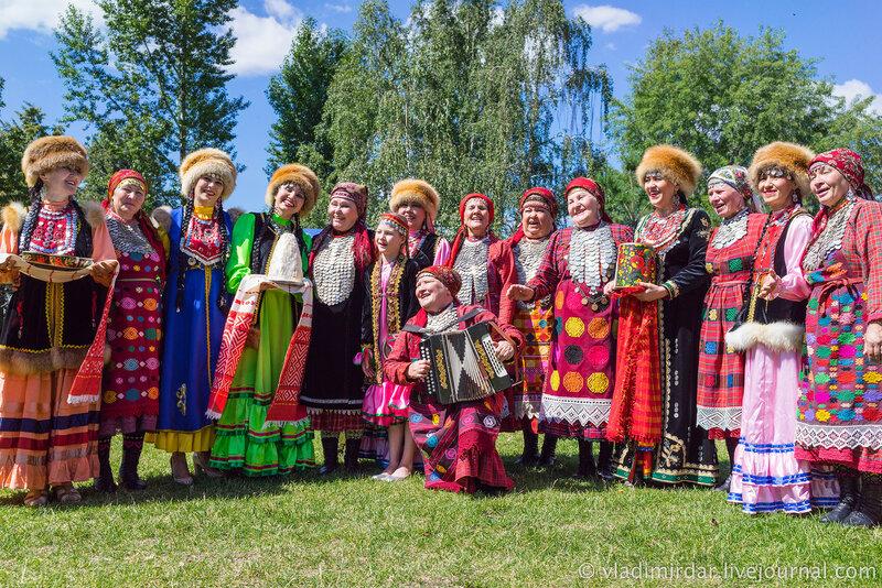 Удмуртский праздник Гербер в Москве