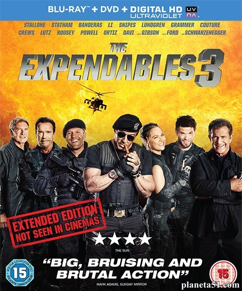 Неудержимые 3 / The Expendables 3 (2014/BDRip/HDRip)