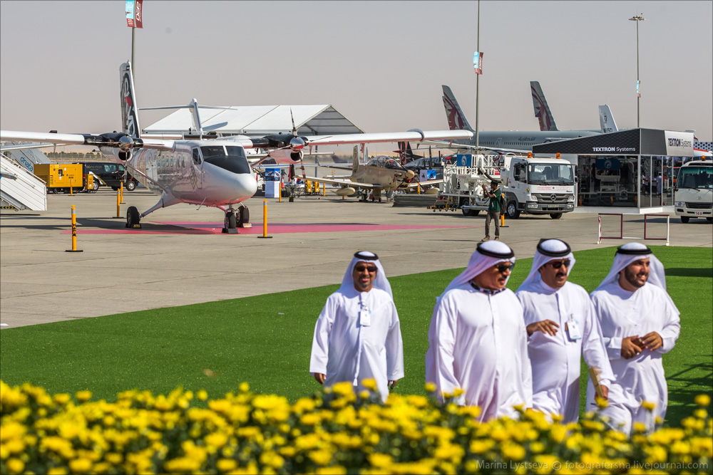 Dubai Air Show 2015 day 0