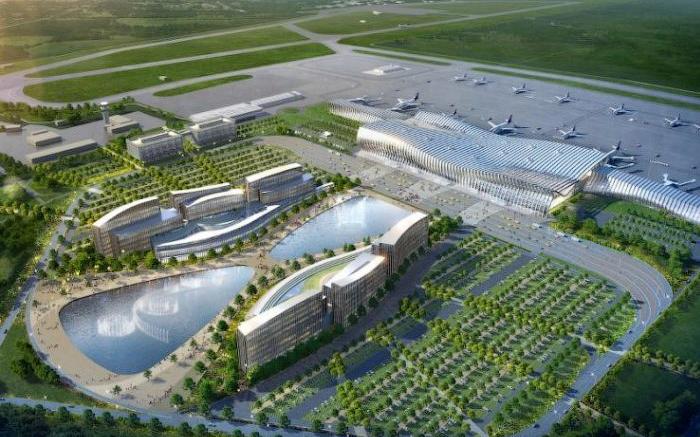 Новый аэропорт Симферополя / New Simferopol airport