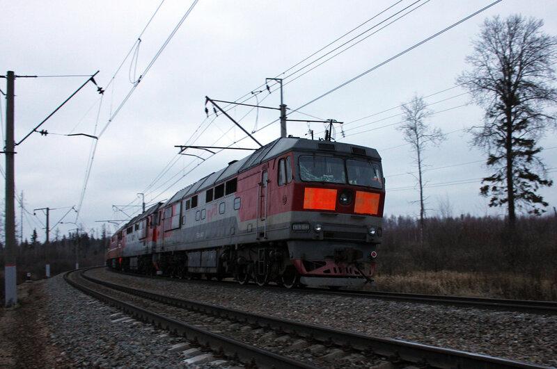 ВЛ10у-665 со сплоткой ТЭП70 0050, 0140, 0158, 0041, 0044