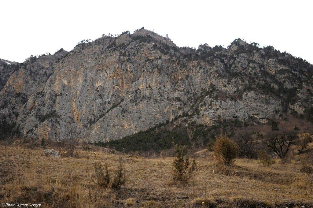 """Окресности селения """"Биз"""" Алагирское ущелье Северная Осетия"""
