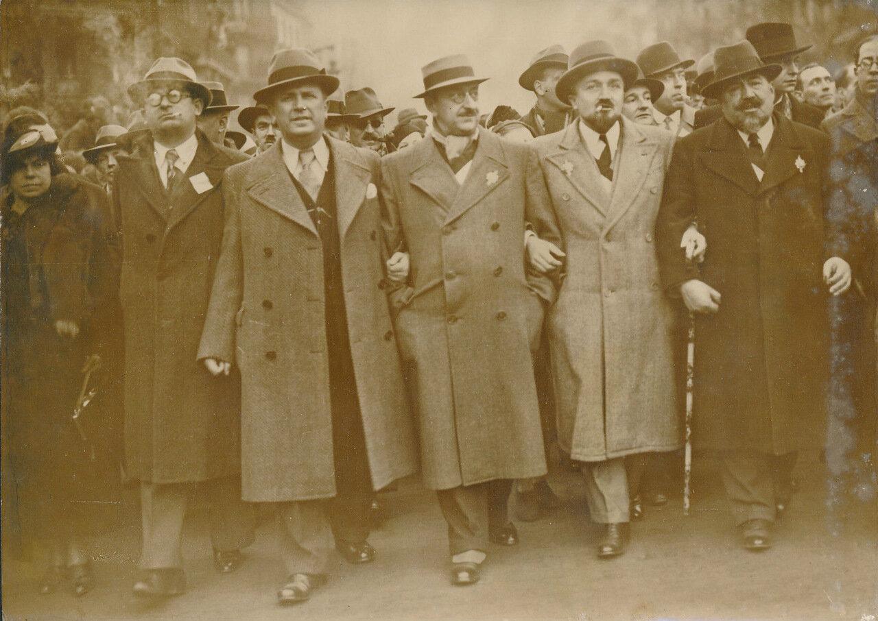 1936. Парад Народного фронта