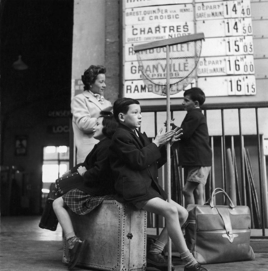 1956. На вокзале Монпарнас в Париже